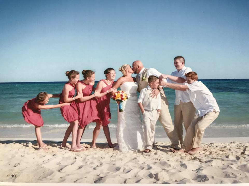 "The ""Blended Family Wedding"" of Mike and Shelly!"