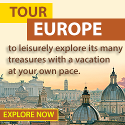 Check out some exciting tours and guided Vacations to Europe!