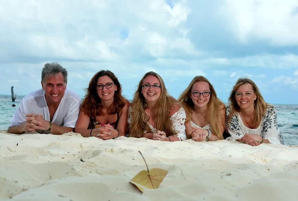 The Huber's took the family on Spring Break in Mexico!