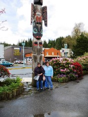 Sisters Carol and Sue had a great sister trip in ALASKA!