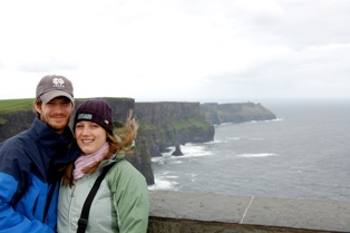 Margaret and Justin Rooney's honeymoon in Ireland was great!