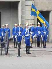 Sweden changing of the guards
