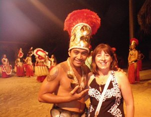Nothing beats meeting a Tahitian Fire Dancer!
