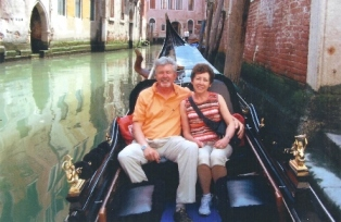 Try a gondola in Venice!