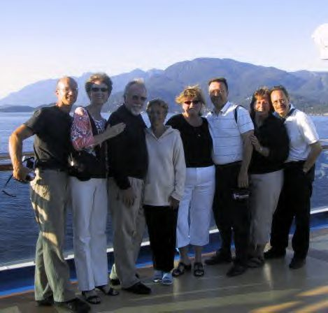 Keith and Kathy Tracy brought the gang along to ALASKA!