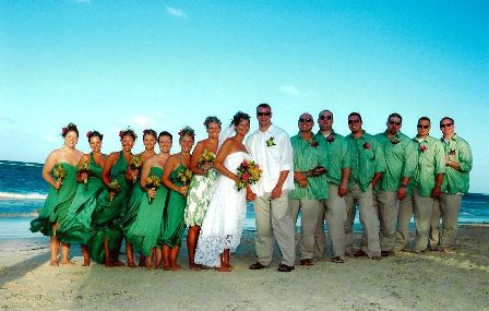 An Amazing Wedding Group In Punta Cana