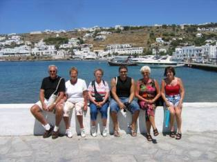 Mykonos was a favorite stop on this Celebrity Cruise!